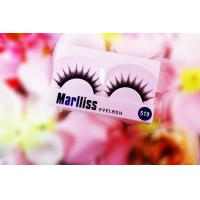 China Synthetic Fibre Glitter False Strip Eyelash , Decorated False Eyelashes wholesale