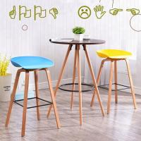 China Modern Plastic Bar Stools / Chairs Non Slip Multiple Colors Optional wholesale