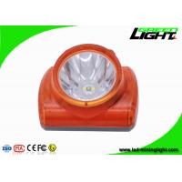 China Explosion Proof Miners Lights For Hard Hats , Lightweight Led Miners Cap Lamp 13000 Lux on sale