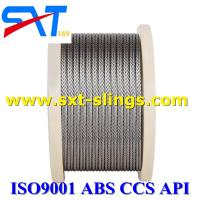 China wire rope manufacturer galvanized steel wire rope exporter 6*37+FC wholesale