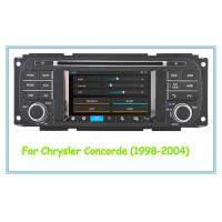 China 1998 - 2004 Concorde Chrysler DVD Player Navigation Support On Board Diagnostic Display wholesale