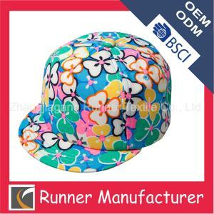 China Flat Bill Custom Snapback Hats Wholesale on sale