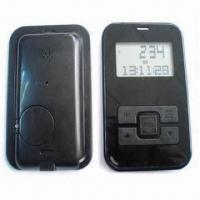 China USB 3D Pedometer, Uploads Status to PC, Made of ABS, Measures 87 x 55 x 9mm wholesale