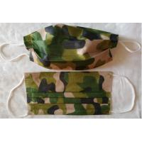 Fashion Military Utility Disposable Face Mask Spunlaced Non Woven For Men Adult
