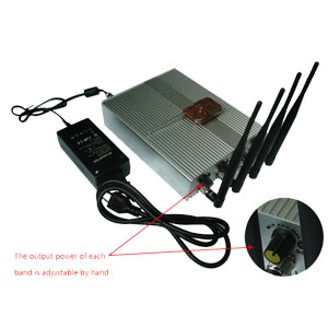 Antenna for cell phone reception - Adjustable Remote Controlled 3G Mobile Phone Jammer Remote Controller