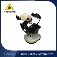 China Ellipse base Generation 3rd  Swing arm type Gem Microscope With F11 binocular lens wholesale