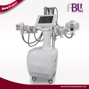 China 40Khz Vacuum Rolller Body Contouring Machine Cavitation 635nm Lipo Laser wholesale