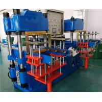 China 2500 KN Silicone Plate Vulcanizing Machine Double Stations 250 mm Plunger Stroke on sale