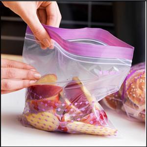 China Resealable Plastic Bags For Foods Packaging , ZipLock Custom Printed Plastic Bags wholesale