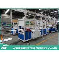 China Pvc Ceiling Panel Making Machine , Pvc Ceiling Production Line Easy Operation on sale