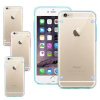 China Transparent Clear Smartphone Protective Case For iPhone 6 6S With 4 PointsBack Cover wholesale
