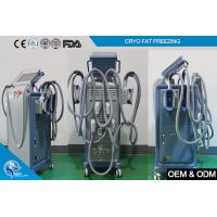 China 800 W cooling power vacuum / LED Cryolipolysis Machine Slimming for Weight Loss on sale