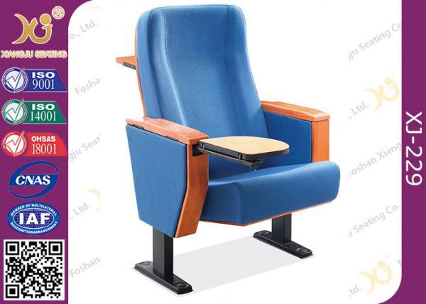 Quality Sillas del asiento/de la sala de conferencias del teatro del auditorio de la madera contrachapada de la haya con la tableta de la escritura for sale