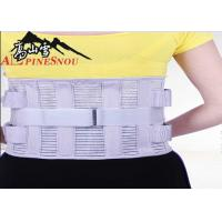 China High Waist Support Belt With High Elastic Fish Silk Cloth And Steel Plates wholesale