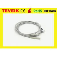 China Din1.5 Socket  EEG cable with Pure Silver Electrodes , TPU material wholesale