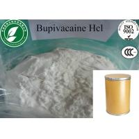 Buy cheap Topical White Anesthetic Powder Bupivacaine Hydrochloride CAS14252-80-3 from wholesalers