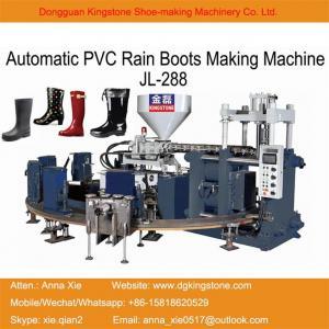 China Kingstone Machinery PVC TPR Rain Boots Injection Moulding Machine on sale