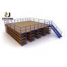 China Boltless / Rivet Shelving Mezzanine Floor Systems , Max 6000mm Upright wholesale