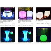China Lano Led table Multi color change decorative led night club table wholesale Factory online wholesale