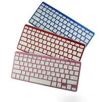 Custom Mini Colorful iPad Bluetooth Keyboards Rechargeable for Smart TV