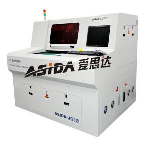Buy cheap Máquina de alta velocidad del PWB Depaneling del laser, cortador flexible del laser del circuito FPC from wholesalers