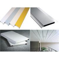 S Or G ShapedAluminium AlloyMetal Strip Ceiling with Good Weather Resistance