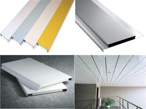 Quality S Or G Shaped Aluminium Alloy Metal Strip Ceiling with Good Weather Resistance for sale