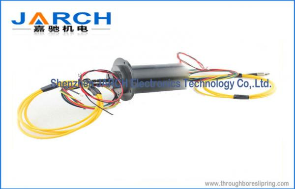 Quality Single / Multi Channel Electrical Slip Rings Industrial With 12 Circuits , 2000RPM Max Speed for sale