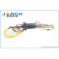 China Single / Multi Channel Electrical Slip Rings Industrial With 12 Circuits , 2000RPM Max Speed wholesale