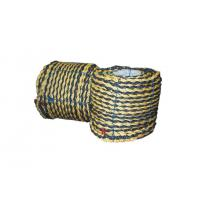 China 3 Strand Twist Polyethylene / PE Tiger Rope 220 Meter (720FT) Per Coil wholesale