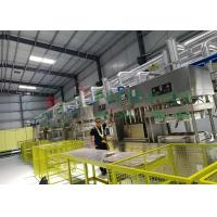 China Compostable Paper Pulp Molding Machine / Manual Tableware Food Tray Line wholesale