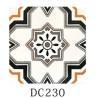 China Apartment Decorative Ceramic Tile 3% Water Absorption Mix Art Pattern wholesale