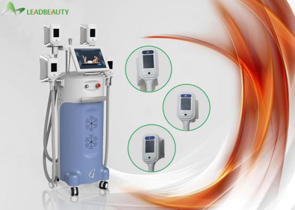Quality 4 Cryo handles and Strong cooling systems cryolipolis lipolaser slimming machine for sale