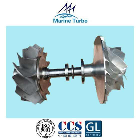 Quality T- MAN Turbocharger / T- TCR16  Rotor Assembly And T- TCR18 Rotor Complete For Marine Turbo Replacement Parts for sale