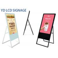 China Indoor Portable Floor Standing Lcd Advertising Display 47/49 Inch LCD Poster Screen wholesale