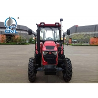 China CIVL 4X2 2WD Road Tractor with 22horsepower , Red 4 Wheel Drive Tractor wholesale