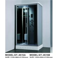 China Durable Walk In Steam Shower Cubicle , Jacuzzi Steam Shower Cabins With Seat on sale