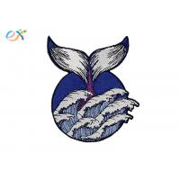 China Girl Guiding Division Iron On Embroidered Patches Logo Customized For Clothing on sale
