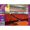 China Suavemente cerrándose pliegue la tela resistente de la abrasión del asiento del teatro del auditorio wholesale