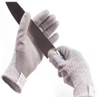 China Level 5 Industrial Cut Proof Work Gloves Pu Coated Gloves Sample Freely wholesale