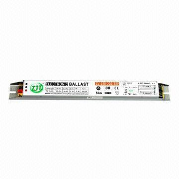 Quality T5 High-power Factor 2 x 28W Electronic Ballast for Fluorescent Lamp, with 220 to 240V Voltages for sale