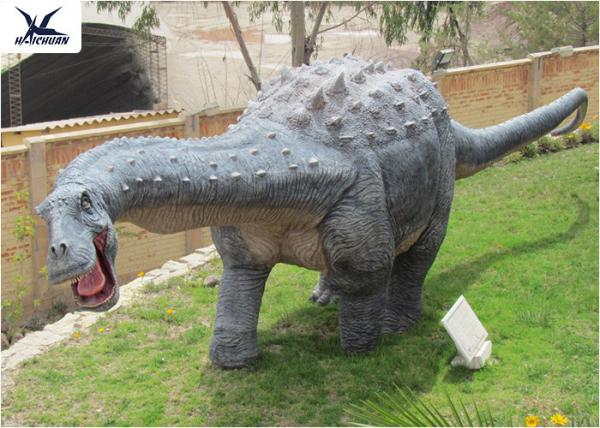 Quality Playground Amusement Dinosaur Lawn Statue Decoration Robotic Life Size Dinosaur Models for sale