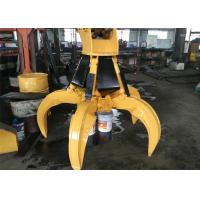 Buy cheap Rotate Hydraulic Orange Peel Grapple for PC220 Excavator Attachment from wholesalers
