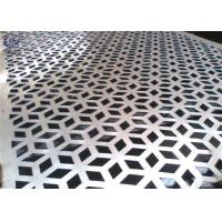 China Decorative Perforated Metal Mesh Screen Plain Weave 1.22x2.44m Size wholesale