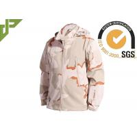 China 3 Color Desert Men Tactical Military Winter Fleece Hooded Outdoor Jacket For Camouflage wholesale