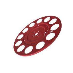 China Red Powder Coating Custom Sheet Metal Fabrication , Deep Drawn Sheet Metal Components wholesale