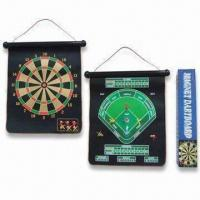 China Dart Boards, Customized Colors are Accepted, Made of Silk Smooth Cloth wholesale