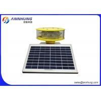 Buy cheap SUS304 Stainless Steel White Medium-intensity Type A Solar Aviation Obstruction Light from wholesalers