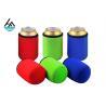 China Custom Foam Neoprene Can Holder / Mutispandex Personalized Beer Can Cooler wholesale