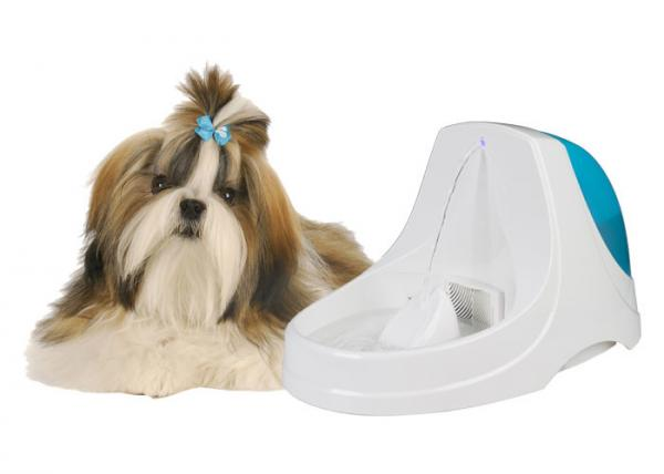 Quality Blue DC 5V 300mA Cat Water Bowl Fountain For Multiple Pet Households for sale